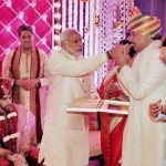 Narender Modi in Sinha's private function!