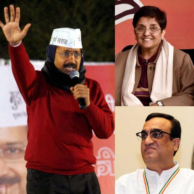 Kejriwal taunts Bedi for shying away from debate