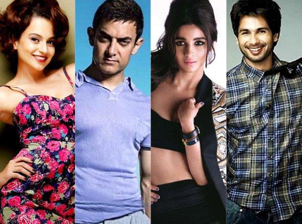 Shahid Kapoor, Aamir Khan , Kangana Ranaut & Alia Bhatt: Who deserves to win at the Filmfare awards 2015?