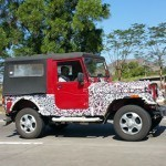 Mahindra Thar Refurbished and Updated will soon be seen on Roads