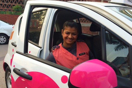 Congratulations: Women only Cabs, Driven by women