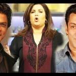 Salman and Shahrukh together on Farah Ki Daawat