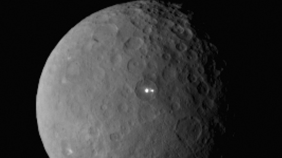 Life may exist on the Dwarf planet, Latest pic released by NASA suggest this?
