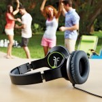 Enjoy your music with Light weight FLIPS Audio XB Headphone Speakers