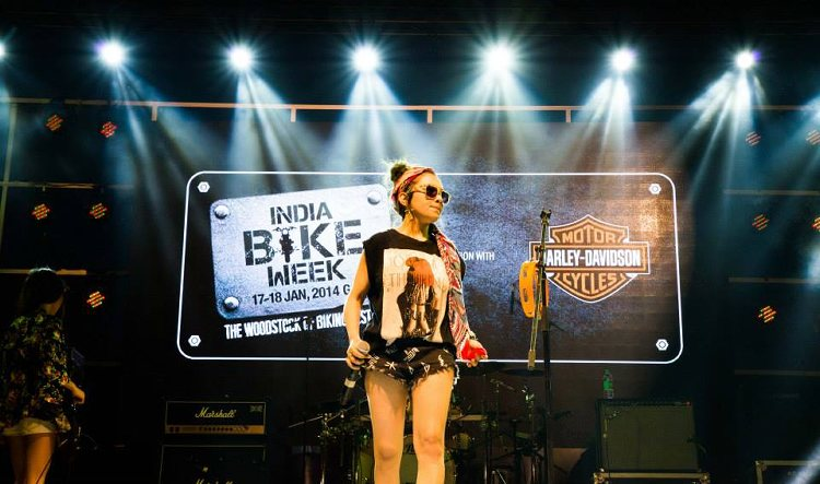 'The Biker's Festival' in the Paradise, India Bike Week 2015.