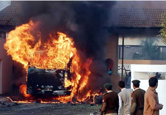 Country burning but still no strict action taken against the Home Grown Terrorists.