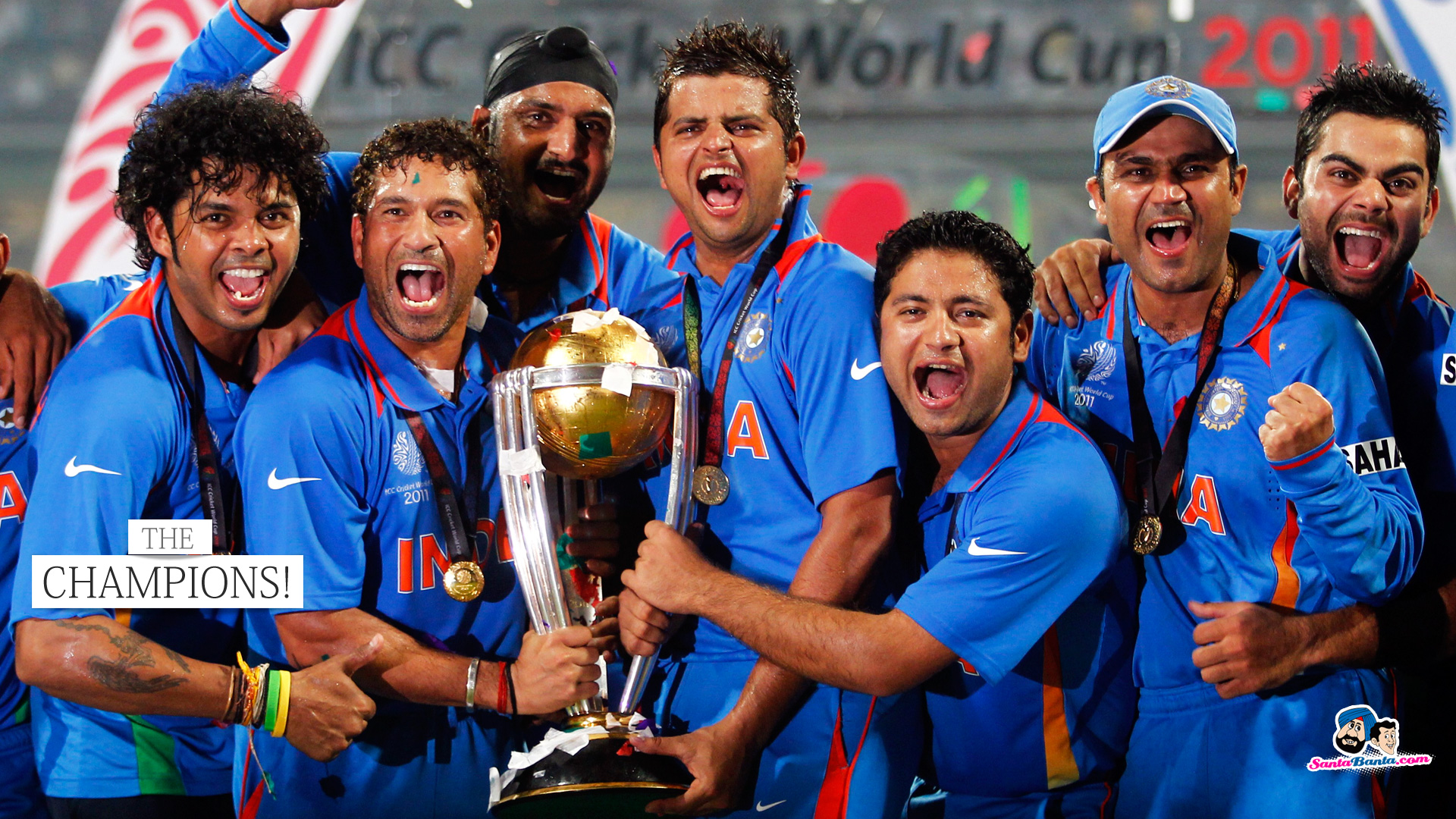Indian cricket team to the world cup the voice of nation