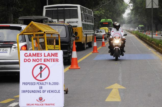 Do you know what traffic lanes are? Jump them and you will be penalized