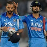 Dhoni, Kohli and Dhawan stands in the top 10 cricketers of the world