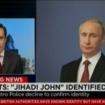 Has CNN done it on purpose? Posing Putin as 'Jihadi John'