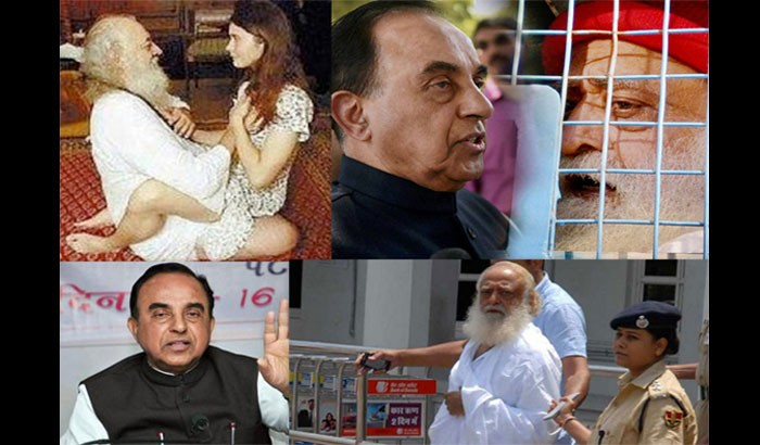 Asaram thinks Subramanian Swamy can help him. He's delusional!
