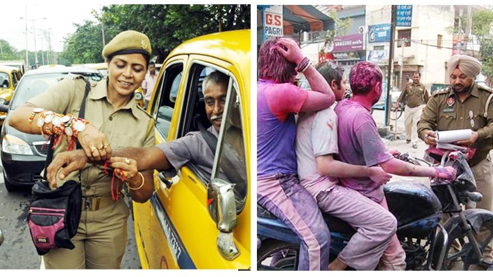 Respect Delhi Police. They are our lifeline!