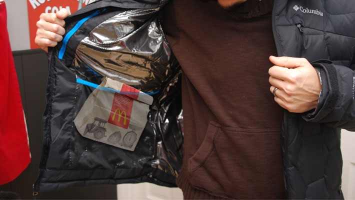 McDonald's burger left in jacket for 5 years. Did not rot, no sign of fungus or odour