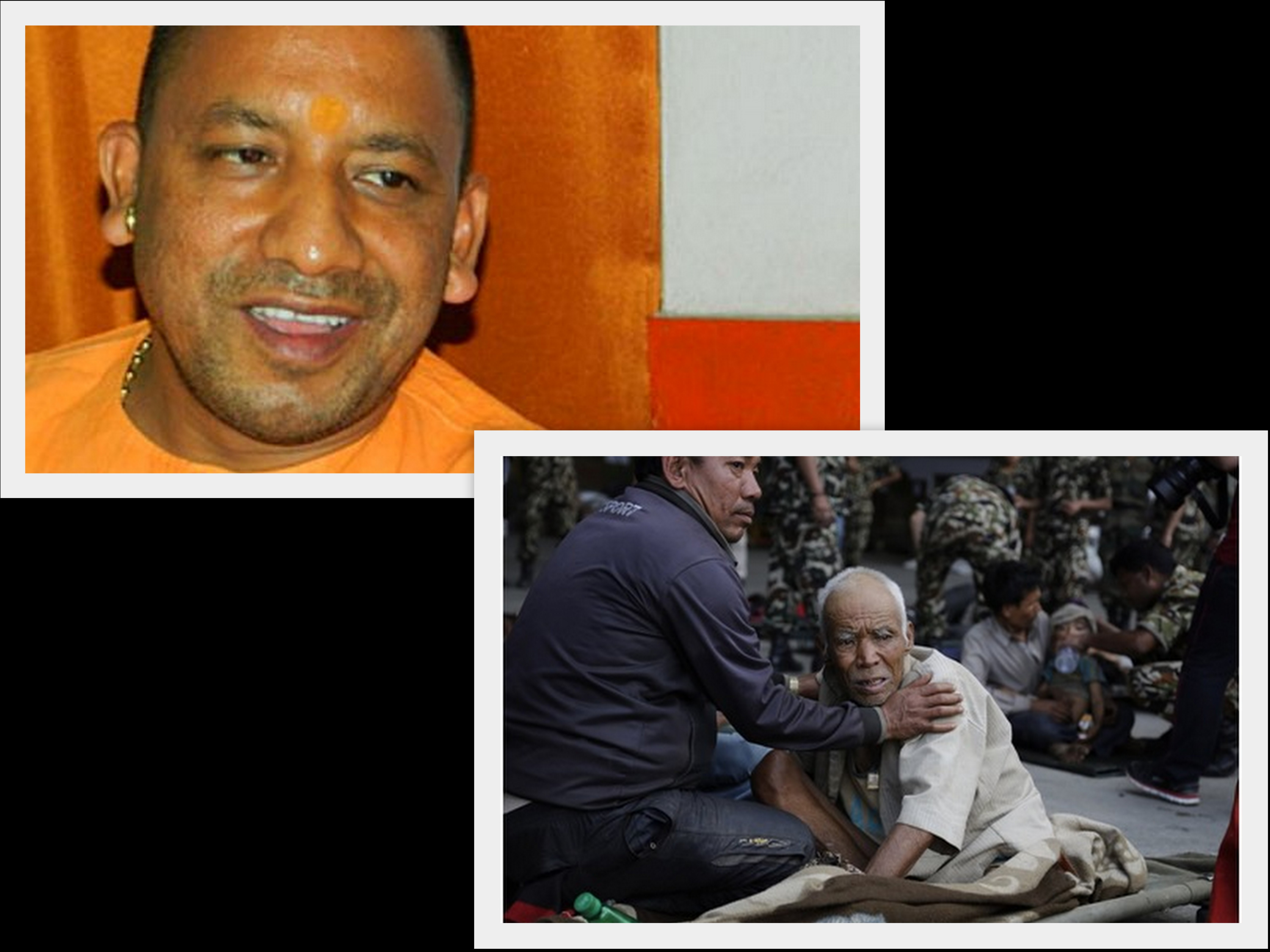Lives can be saved later, Yogi Adityanath wants to rebuild Nepal's damaged temples first