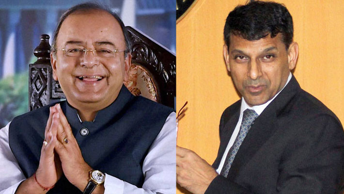 The Rupee slump: Arun Jaitley, Raghuram Rajan putting up brave fronts, but reality hasn't escaped us!