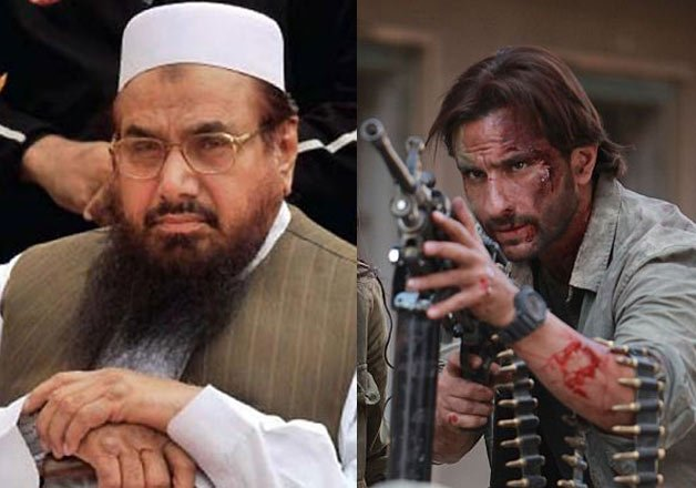 India, Katrina Kaif, Pakistan,  saif ali khan, Hafiz Saeed
