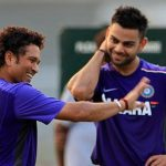 Sachin Tendulkar, Virat Kohli tease each other on twitter, compel us to waste our time on it!