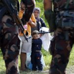 Hurting with water canons and tear gassing helpless Syrian women and children. Shame on Nazi inspired heartless Hungary!