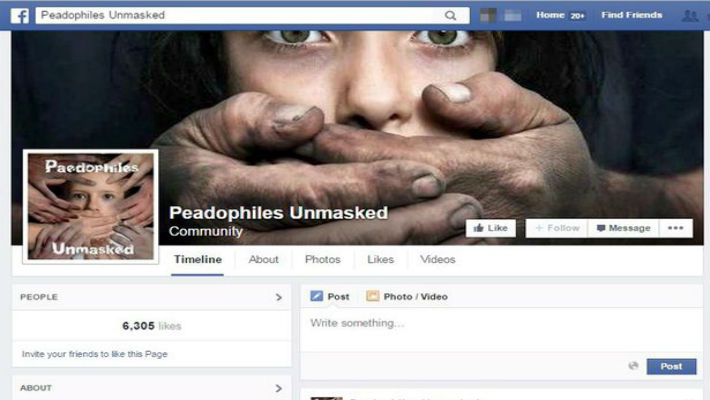 Facebook has betrayed the trust of millions of users. It sleeps while paedophiles roam its dark alleys!