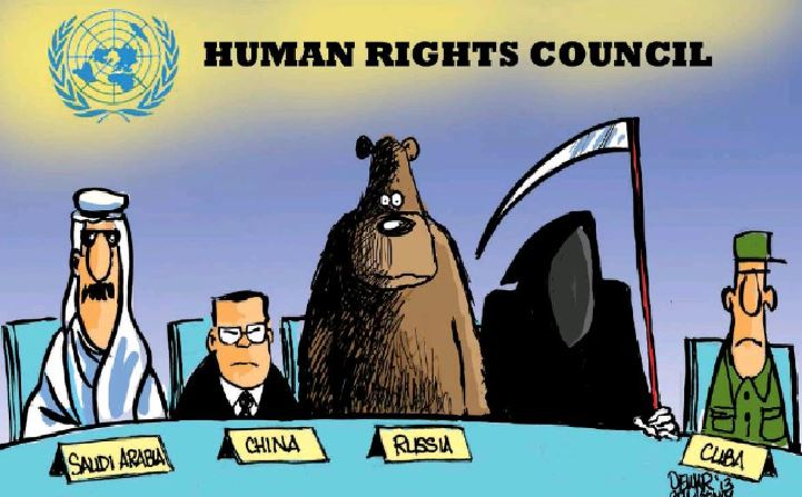 In Saudi Arabia, the buzzwords are beheading, mutilation and flogging, not human rights…