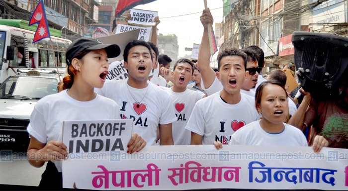 Nepali_Youth_Protest_BACK_Off_India9