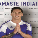 Can Lionel Messi do for Tata Motors what Hugh Jackman does for Micromax? Will he drive a Tata car in Barcelona?