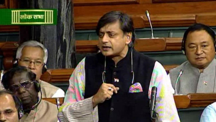 BJP back-benchers in Lok Sabha are playing dirty politics. Implying Shashi Tharoor is a gay 'coz' he advocates their right, is naughty.