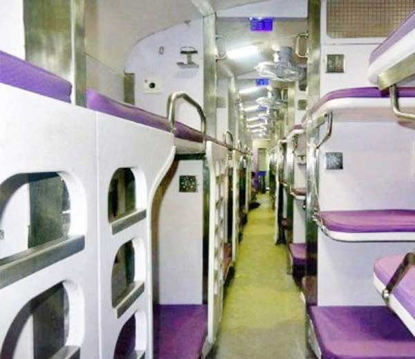 luxury train coaches
