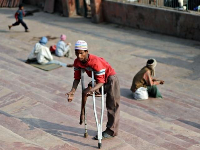 Indian beggars