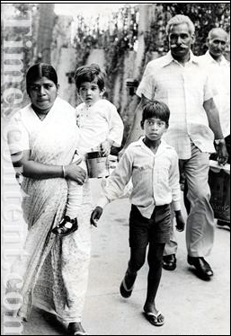 Maneka Gandhi's son