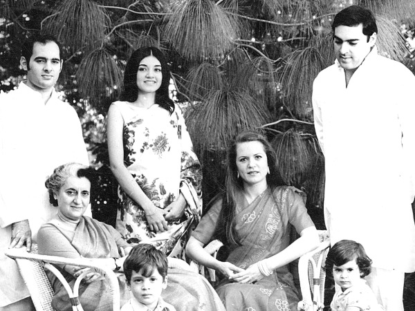 Maneka Gandhi with Family