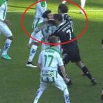 Ronaldo punches Edimar, may face suspension