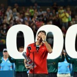 Federer completes 1000th career win with Brisbane title