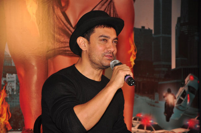 Aamir belongs to Old School or to the double standards league?