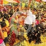 "The Holy Big Fat Indian – Holi Commences by ""Phoolon"" ki Holi"