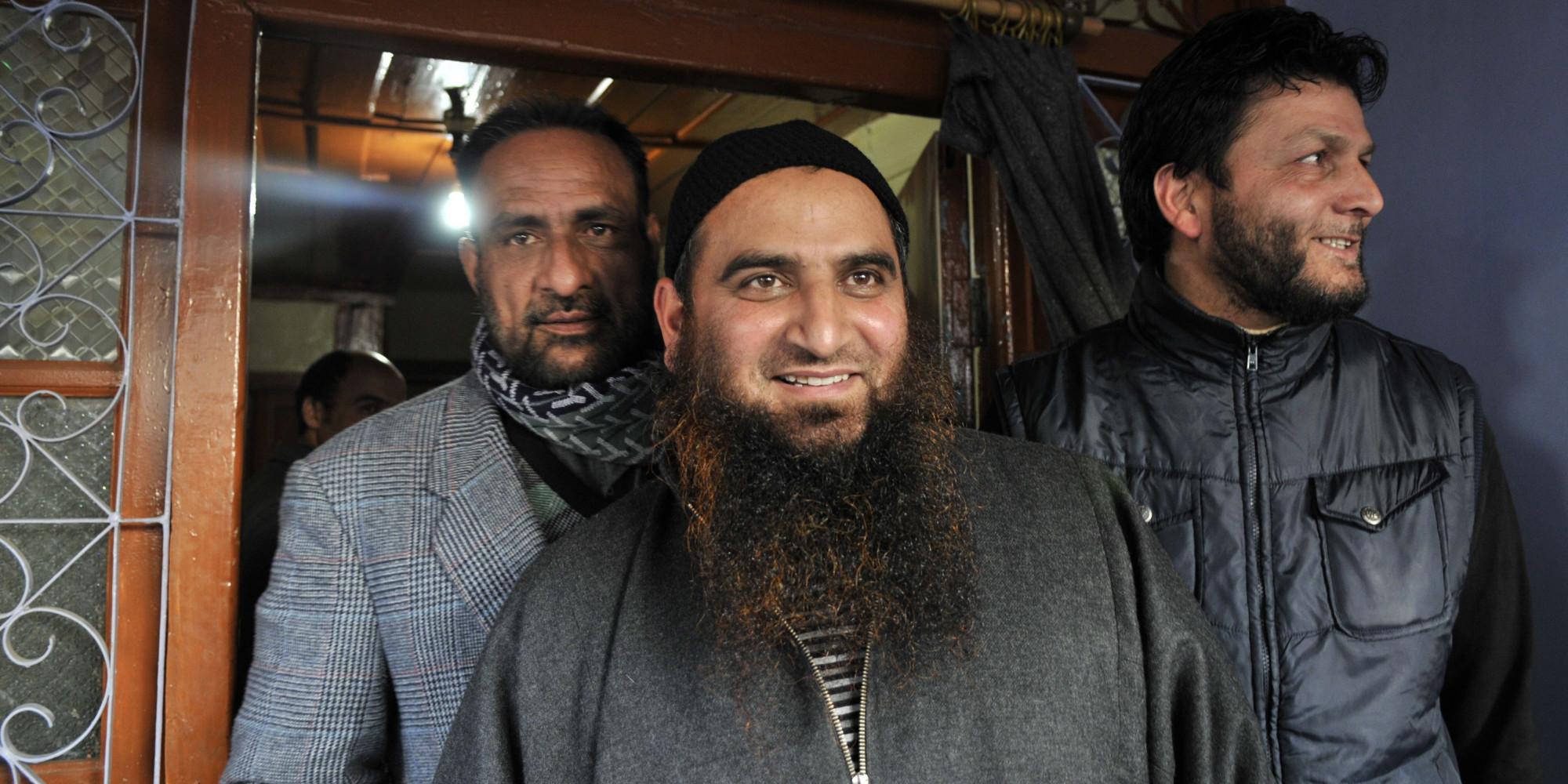Kashmiri Separatist Leader Masarat Alam At His Home