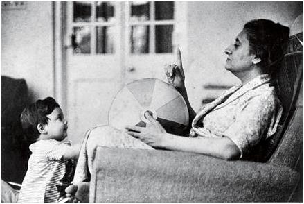 Indira Gandhi, Sanjay Gandhi