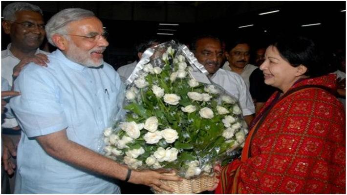 Modi should flash V sign for Jayalalitha