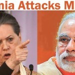 Sonia Gandhi follows Rahul Gandhi, indulges in Modi bashing!