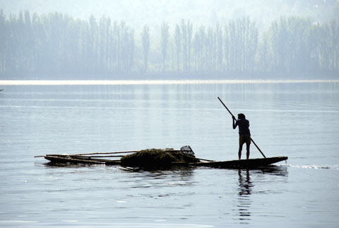 India, Kashmir, Pakistan, Dal Lake
