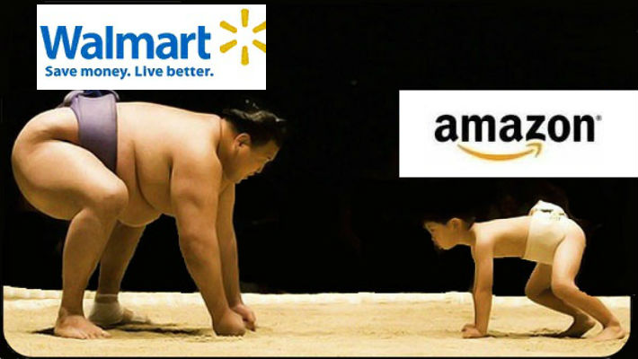 The future of shopping is here: E-commerce giant Amazon more valuable than legendary Wal-Mart!