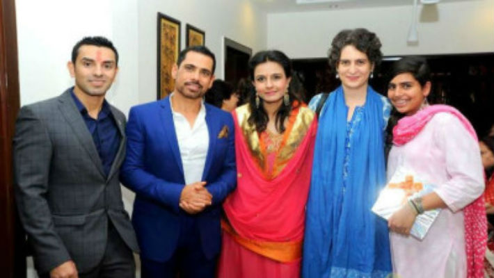 "Robert Vadra once said, ""These Ppl are always after me!! Handsome Hona koi Paap hai Kya?!"""