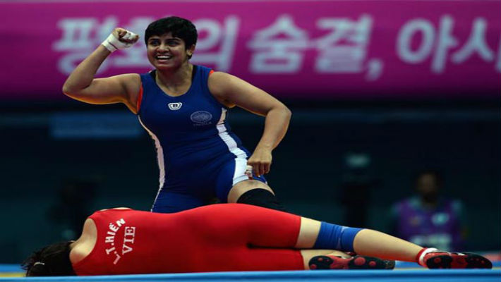 Once a child bride, 21-year-old Neetu is determined to put India on world map of wrestling!