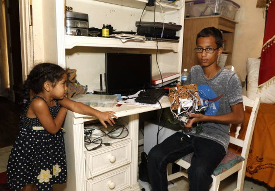 Pulled out of classroom, handcuffed & suspended: Ahmed Mohamed is the latest victim of USA's Islamophobia!