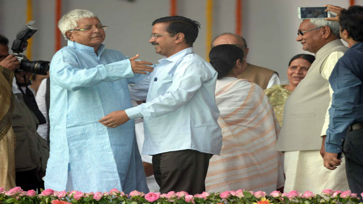 Even if Kejriwal had willingly hugged Lalu Yadav, it was still okay. It reflects tolerance, an element steadily disappearing.