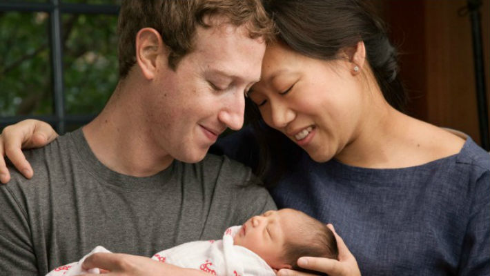 How can a man want to give away so much so soon? Daddy Mark Zuckerburg has become truly inspirational now.