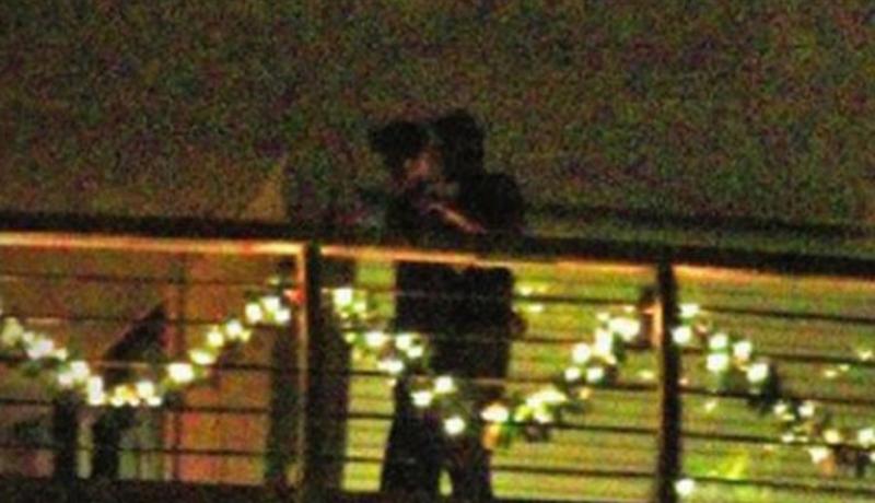 Deepika Padukone's ex kissing Katrina Kaif