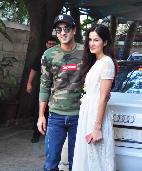 Deepika Padukone's ex Ranbir Kapoor with Katrina Kaif