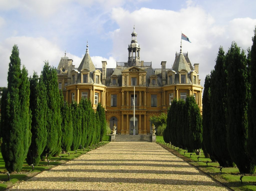 Halton House, a Rothschild family mansion in Buckinghamshire, England