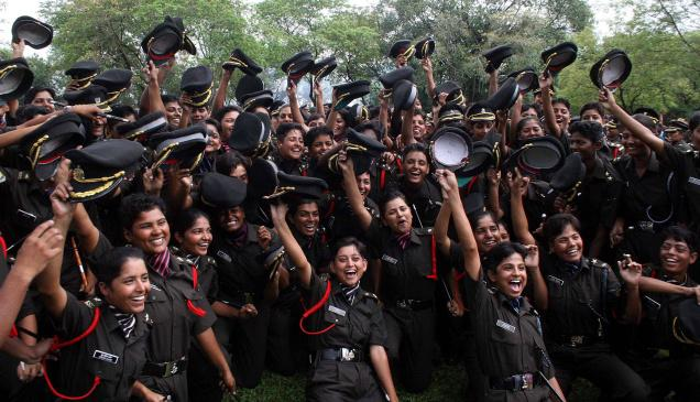 Women in Indian Forces